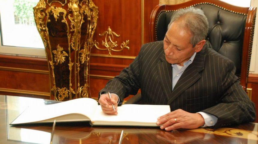 زياره وزير التمويين عبد الخالق جوده و السيد البرعي محافظ اسيوط